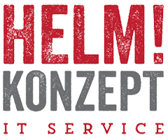 Helm!Konzept IT-Service Logo